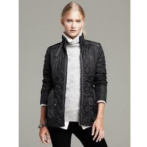 Banana Republic Quilted Motto Field Jacket